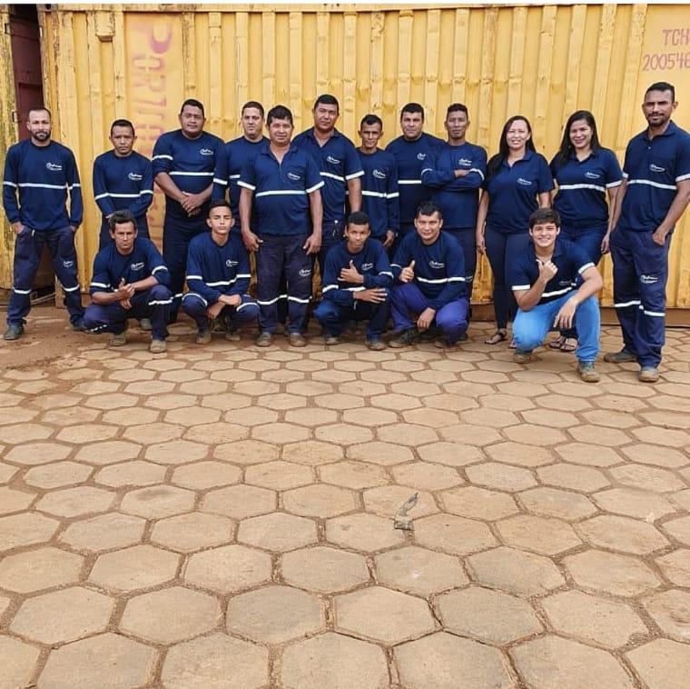 Equipe P&F Transportes Porto Velho/RO