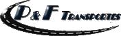 Logo P&F Transportes